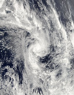 Cyclone Tam Category 1 South Pacific cyclone in 2006