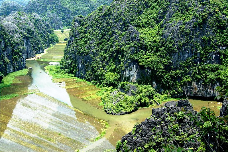 Sông Ngô Đồng ở Hoa Lư, Ninh Bình