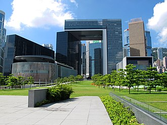 Tamar, Hong Kong - Image: Tamar Development View 201308