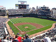 Target Field am 10. April 2010