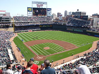 Target Field - Target Field during a game vs. Kansas City in 2010