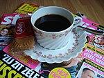 Tasse de café avec speculoos