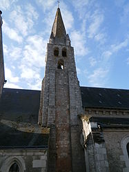 The church in Tauxigny