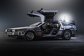DeLorean time machine - Image: Team Time Car.com BTTF De Lorean Time Machine Oto Godfrey.com J Morton Photo.com 07