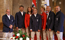 Team Austria - Olympic Games 2012 - reception at Hofburg c20 judokas.jpg