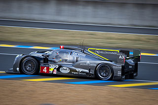 sports prototype racing car built for World Endurance Championship LMP1 class competition