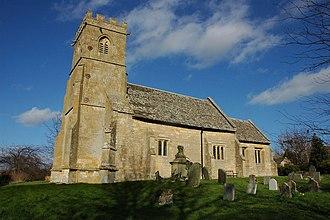 Teddington, Gloucestershire - St Nicholas' Church in Teddington
