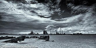 South Gare - Teesside Derelict Steelworks and Wooden Wreck