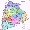 Telangana new districts and old districts 2016.jpg
