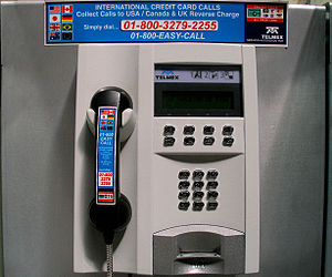 Telmex - A Telmex pay phone