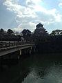 Tenshu and Gokurakubashi Bridge of Osaka Castle.jpg