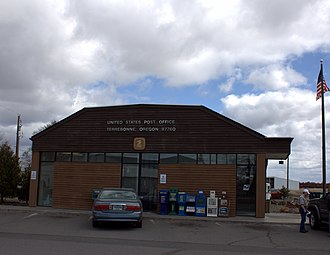 Terrebonne, Oregon - Post office in Terrebonne