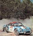 Thérier and Jaubert's Alpine-Renault A110 1800 (1973 Rallye Sanremo).jpg