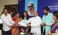 "Thaawar Chand Gehlot conferred the prizes to the winners of ""Babu Jagjivan Ram All India Essay Competition 2015"", organised by the Babu Jagjivan Ram National Foundation (BJNRF), in New Delhi.jpg"