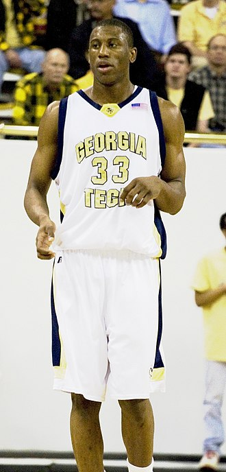 Thaddeus Young - Young at Georgia Tech in December 2006
