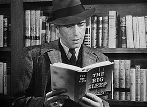 The Big Sleep - Humphrey Bogart in the trailer for The Big Sleep (1946)