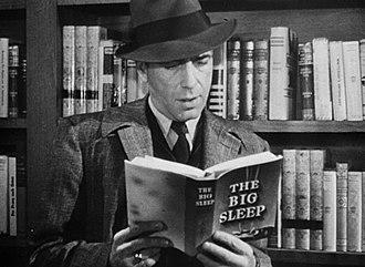The Big Sleep - Humphrey Bogart in the trailer for The Big Sleep (1946)