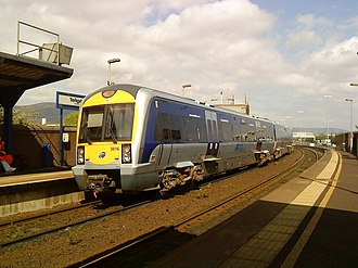 NIR Class 3000 - Image: The 12 52 to Londonderry leaves Yorkgate station geograph.org.uk 2359652