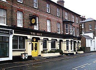 group of pubs or bars with a brand image