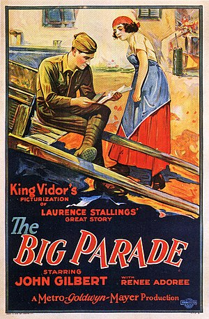 The Big Parade - Theatrical release poster