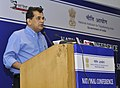 The CEO, NITI Aayog, Shri Amitabh Kant addressing at the National Conference on Good Practices in the Social Sector Service Delivery, in New Delhi on May 23, 2016.jpg