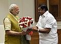The Chief Minister of Tamil Nadu, Shri Edappadi K. Palaniswami calls on the Prime Minister, Shri Narendra Modi, in New Delhi on February 27, 2017.jpg