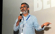 The Director Nitesh Tiwari of the film DANGAL at the Master Class, during the 48th International Film Festival of India (IFFI-2017), in Panaji, Goa on November 23, 2017.jpg