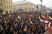 The Dissenters March in St. Petersburg, March 3, 2007