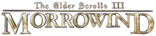 The Elder Scrolls III - Morrowind - Text Logo.png