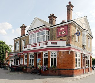 Hanwell - The Fox, built in 1848
