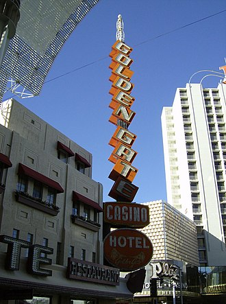 Golden Gate Hotel and Casino - Image: The Golden Gate Csino vegas Fremont street