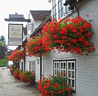 Marlow, Buckinghamshire - The Hand & Flowers has earned 2 Michelin stars