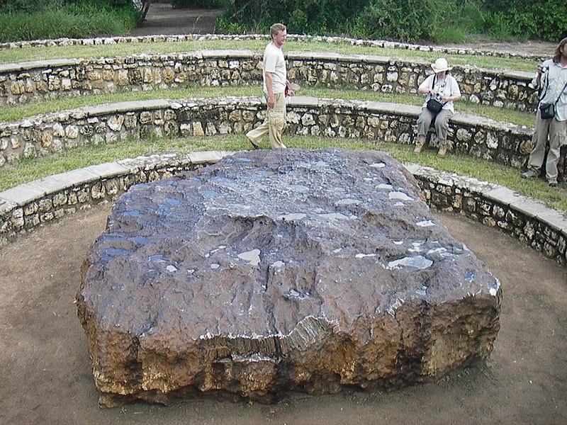 The Hoba Meteorite near Grootfontein