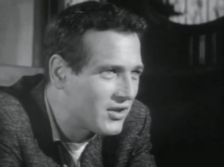Newman in The Hustler (1961) The Hustler 1961 screenshot 4.png