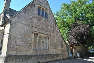 Downton Abbey - Bampton Library, used as the Downton Cottage Hospital