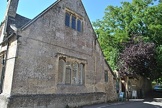 Bampton, Oxfordshire - The public library, built in the 1650s as the free school