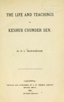 The Life and Teachings of Keshub Chunder Sen.djvu