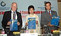 """The Minister of State (Independent Charge) for Housing and Urban Poverty Alleviation Kumari Selja at the releasing of a book """"Commonwealth Local Government Handbook 2008 """", in New Delhi on April 16, 2008.jpg"""