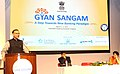 The Minister of State for Finance, Shri Jayant Sinha delivering the inaugural address at the 'Gyan Sangam', at Gurgaon, Haryana.jpg
