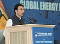 The Minister of State for Petroleum & Natural Gas, Shri Jitin Prasada addressing the Valedictory Session of Petrotech 2010, in New Delhi on November 03, 2010.jpg