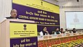 The Minister of State for Youth Affairs and Sports (IC), Water Resources, River Development and Ganga Rejuvenation, Shri Vijay Goel addressing at the 64th Meeting of Central Advisory Board of Education (CABE), in New Delhi.jpg