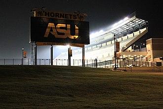 New ASU Stadium - Image: The New ASU Stadium