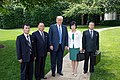The North Korean Delegation and Donald Trump at the White House - 2018.jpg