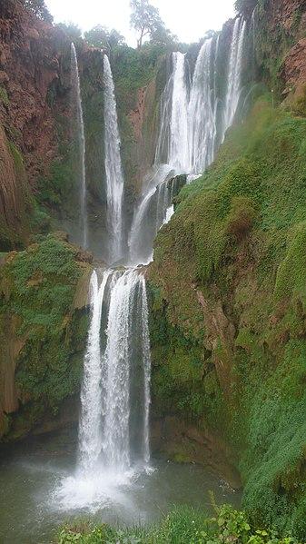 File:The Ouzoud waterfalls.jpg