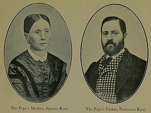 Pope Pius XI - The parents of Pius XI