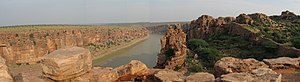 Penna River - The Penna river near the Gandikota fort in Kadapa District of Andhra Pradesh
