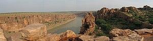 Penna River - The Penna river near the Gandikota fort in Kadapa District of Andhra Pradesh