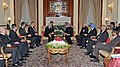The Prime Minister, Dr. Manmohan Singh meeting the Emperor of Japan, His Majesty Akihito, in New Delhi on December 02, 2013 (2).jpg