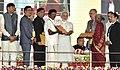 The Prime Minister, Shri Narendra Modi distributing the awards at the Krishi Unnati Mela, in New Delhi (3).jpg