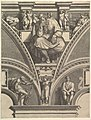 The Prophet Jeremiah, from the series of Prophets and Sibyls in the Sistine Chapel MET DP821565.jpg